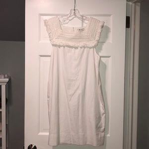 NWT Madewell White Shift Dress